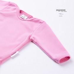 Body dlouhý rukáv růžové