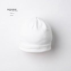 Čepička jednostranná bílá