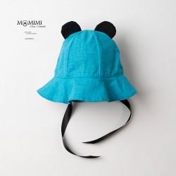 Letní klobouček s oušky -...