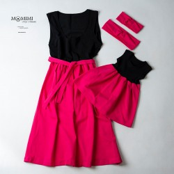 Šaty holčička a maminka...