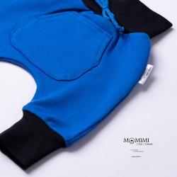 Tepláčky elastické olymp modrý