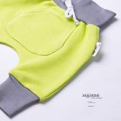 Tepláčky elastické limet