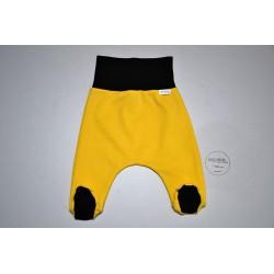 Polodupačky žluté s černou