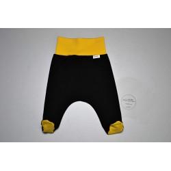 Polodupačky černé se žlutou