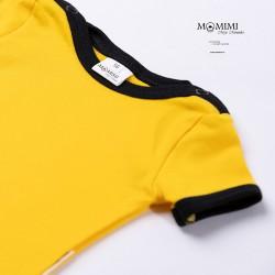 Body krátký rukáv žluté s...